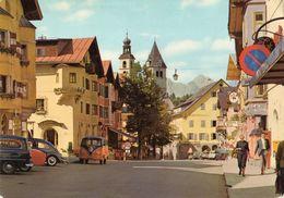 < Automobile Auto Voiture Car >>  VW Transporter Bulli Bus T1 Cox, Opel Rekord Caravan, Kitzbühel - Turismo