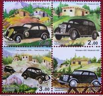 Tajikistan  2015    Cars  4v   MNH - Voitures