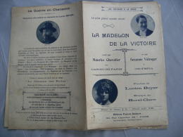 Madelon De La Victoire  Ancienne Partition De Musique - Scores & Partitions