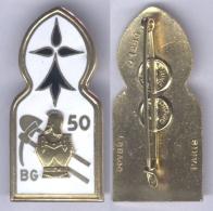 Insigne Du 50e Bataillon De Génie - Esercito