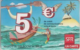 MAYOTTE - TÉLÉCARTE - GSM DU MONDE *** RECHARGE GSM - SFR / 06/10 *** - TAAF - French Southern And Antarctic Lands
