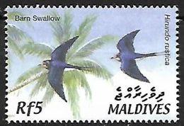 Maldives - MNH - 2002 - Barn Swallow (Hirundo Rustica) - Zwaluwen