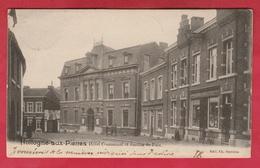 Hollogne-aux-Pierres - Hôtel Communal Et Justice De Paix - 1901 ( Voir Verso ) - Grâce-Hollogne