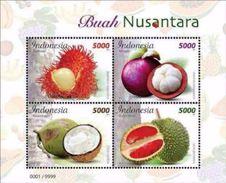 Indonesia MNH Miniature Sheet 16.10.2017 Fruits - Indonesia