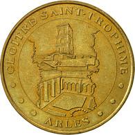 France, Jeton, Jeton Touristique, Arles - Cloître, 2002, Monnaie De Paris, TTB - France