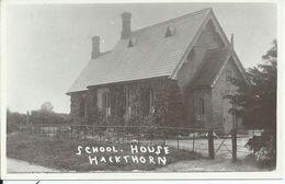 HACKTHORN : School House - Engeland