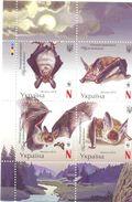 2016. Ukraine, WWF, Bats, 4v, Mint/** - Ucraina