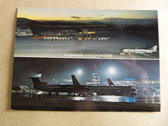 AIRPORT / FLUGHAFEN / AEROPORT   ZURICH  KLOTEN      TARMAC / CARAVELLE AIR FRANCE - Aerodrome