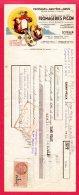 """FACTURE (Réf : B 506) """"Documents Commerciaux"""" FROMAGERIE PICON ST-FÉLIX( Hte-Savoie) - France"""