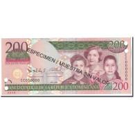 Dominican Republic, 200 Pesos Oro, 2009, KM:178, NEUF - Dominicaine