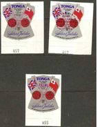 Tonga - 1977 Silver Jubilee Officials First Day Set Of 3     SG O151-3  Sc CO117-9 - Tonga (1970-...)
