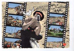 38096-ZE-59-Souvenir De MALO-les-BAINS--------------multivues-----------scène Cinéma - Malo Les Bains