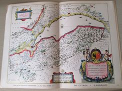 """DIV0714 : Jolie Repro De Carte Ancienne Années 1600/1700 ?  LAC LEMAN  (série """"VIEUX PAYS DE FRANCE"""" N°23) , Objet Publi - Geographical Maps"""