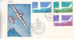 Saint Marin - Lettre De 1974 - Oblit Républica Di San Marino - Avions - Lettres & Documents