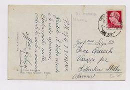 ALBANIA - OCCUPAZIONE ITALIANA - 1941 - CP Avec CACHET POSTA MILITARE Nro 37 Pour SAN MARTINO STELLA - Occupation 2ème Guerre Mond. (Italie)