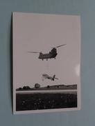 Helikopter & Vliegtuig ( Parachute ) Detail Achterkant 2 WING TAC ( Zie Foto's Voor Detail ) ! - Guerre, Militaire