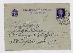 ALBANIA - OCCUPAZIONE ITALIANA - 1942 - CARTE LETTRE Di SAVIGLIANO Per La POSTA MILITARE N° 12 - Occupation 2ème Guerre Mond. (Italie)