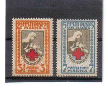 OST794  ESTLAND 1921  MICHL 29/30 A (*) FALZ   SIEHE ABBILDUNG - Estland