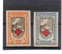 OST795  ESTLAND 1921  MICHL 29/30 B (*) FALZ   SIEHE ABBILDUNG - Estland