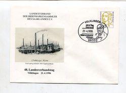 """Bundesrepublik Deutschland / 1996 / So-GSU """"Briefmarkensammler Des Saarlandes"""" SSt. Voelklingen (11/087) - [7] Federal Republic"""