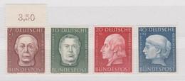 BUND MICHEL N° 200-203  ** - Unused Stamps