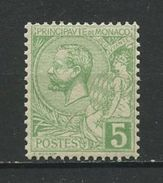 MONACO 1891 N° 22 ** Neuf  MNH Superbe Cote 2,50 € Prince Albert Ier - Monaco