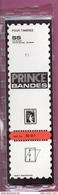 25 Bandes Simple Soudure Prince Fond Transparent 210x55mm -  50% - Timbres