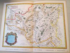 """DIV0714 : Jolie Repro De Carte Ancienne Années 1600/1700 ?  AUTUNOIS De Cajou !  (série """"VIEUX PAYS DE FRANCE"""" N°40) , O - Geographical Maps"""