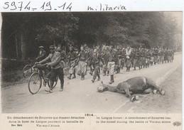 Militaria  : Un Detachement De Zouaves - War 1914-18