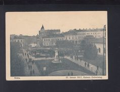 Romania PPC Braila 1917 German Occupation - Romania