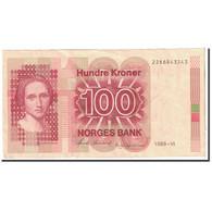 Norvège, 100 Kroner, 1988, KM:43d, TTB+ - Norvegia