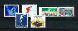 Canadá  Nº Yvert  726/7-736/7-738-741  En Nuevo - 1952-.... Reinado De Elizabeth II