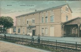 AK Köln Wahn, Intérieur De La Gare, Bahnhof, Ca. 1920er Jahre (25992) - Koeln