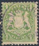 Stamp Bavaria 1870-72 1kr Used Lot#2 - Bavaria