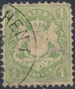 Stamp Bavaria 1870-72 1kr Used Lot#3 - Bavaria