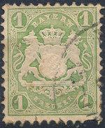 Stamp Bavaria 1870-72 1kr Used Lot#8 - Bavaria