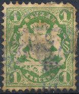 Stamp Bavaria 1870-72 1kr Used Lot#10 - Bavaria
