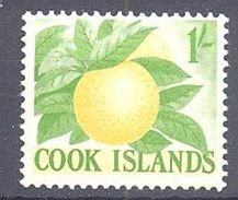 Cook: Yvert N° 95**; MNH; Fruit; Orange - Cook Islands