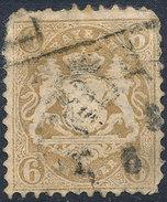 Stamp Bavaria 1870-72 6kr Used Lot#14 - Bavaria
