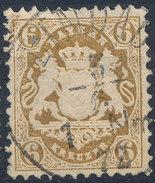 Stamp Bavaria 1870-72 6kr Used Lot#15 - Bavaria