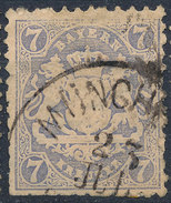 Stamp Bavaria 1870-72 7kr Used Lot#22 - Bavaria