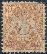 Stamp Bavaria 1870-72 9kr Used Lot#26 - Bavaria