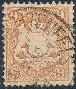 Stamp Bavaria 1870-72 9kr Used Lot#28 - Bavaria