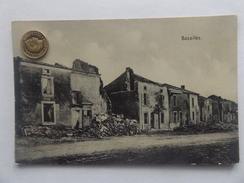 Bazailles, 1.WK, Zerstörte Häsuer, 1915 - France
