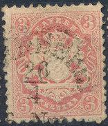 Stamp Bavaria 1870-72 3kr Used Lot#31 - Bavaria