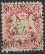 Stamp Bavaria 1870-72 3kr Used Lot#34 - Bavaria