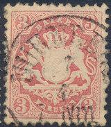 Stamp Bavaria 1870-72 3kr Used Lot#38 - Bavaria