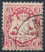 Stamp Bavaria 1870-72 3kr Used Lot#49 - Bavaria