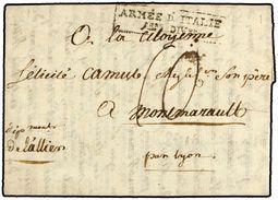 ITALIA. 1800. MILAN A FRANCIA. MARCA ARMEE D'ITALIE/ 1ere Don. - Marcofilia (sobres)