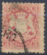 Stamp Bavaria 1870-72 3kr Used Lot#52 - Bavaria
